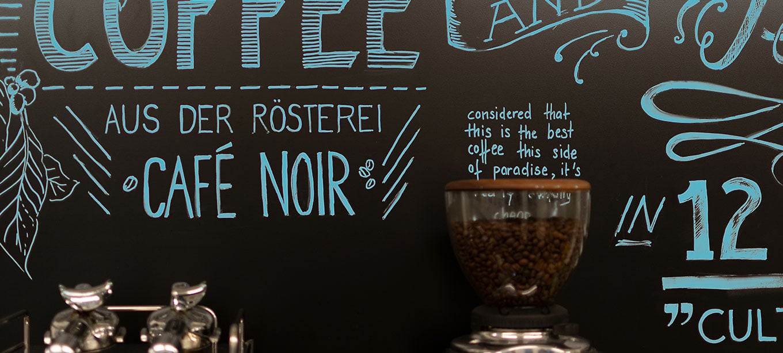 FocusMedia Kaffee Wandtafel